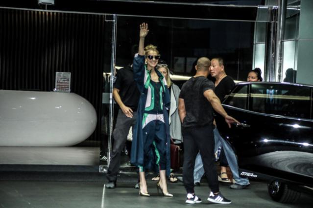 席琳迪翁(Celine Dion)抵达台湾将登小巨蛋开唱