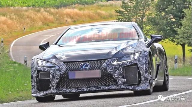 雷克萨斯Lexus LC F谍战曝光 V8双涡轮马力十足